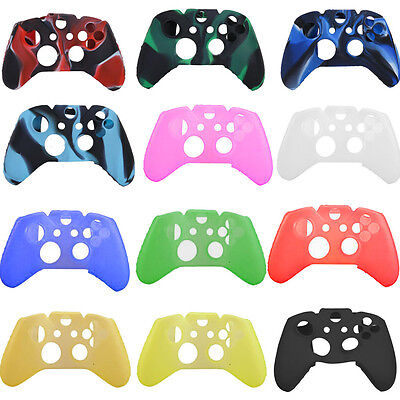 Soft Silicone Gel Rubber Protecting Cover Case fit Xbox One Grip Controller