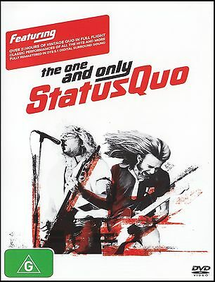 Status Quo - The One And Only Dvd ~ Classic Footage ~ Over 2.5 Hours...!! *New*