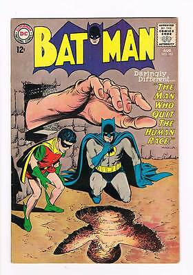 Batman # 165  Man Who Quit the Human Race !  grade 7.5 scarce hot book !!