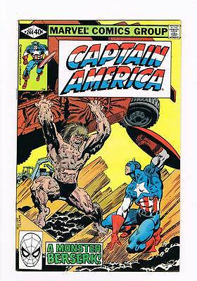 Captain America # 244 The Way of all Flesh ! grade 9.0 hot book !!