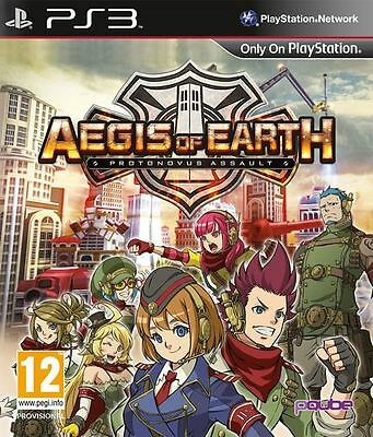 Aegis Of Earth Protonovus Assault Ps3 Game - Brand New And Sealed