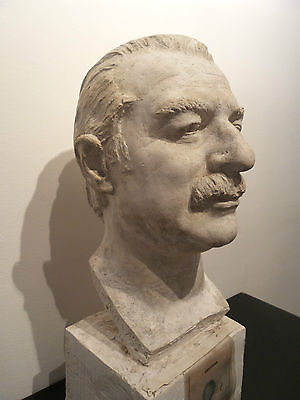 "Busto de ""Tip"" (autor: F. Coullaut Valera) FIRMADO / SIGNED"