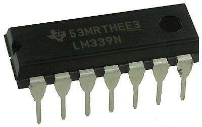 LM339 IC Low Power Quad Voltage Comparator SMD Texas Instruments