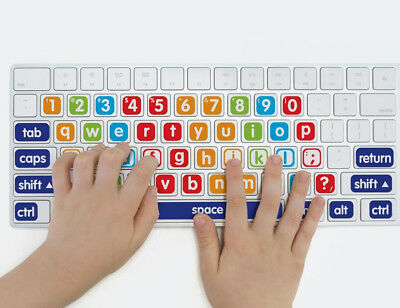 Bright Star Kids Laptop Keyboard Labels for Keys - Learn How to Type for Kids
