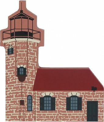 Cat's Meow Village Great Lakes Apostile WI Sand Island Lighthouse #5944 NEW