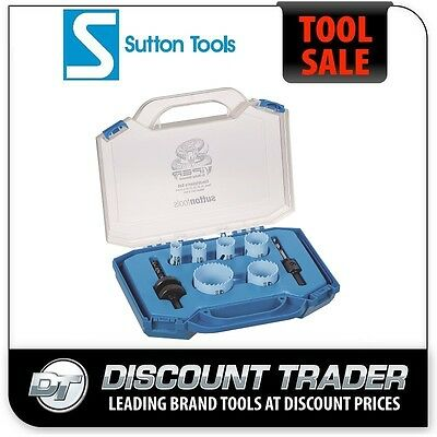 Sutton H114 Viper HSS Bi-Metal Holesaw Electrician Set - H114S9