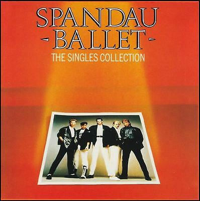 SPANDAU BALLET - THE SINGLES COLLECTION CD ~ GOLD~TRUE~ROUND & ROUND 80's *NEW*