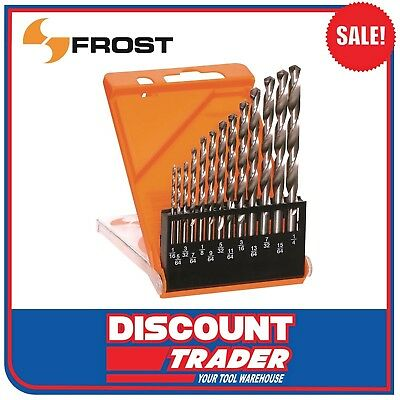 Frost 13 Piece HSS Drill Bit Set Imperial (by Sutton) - 92250