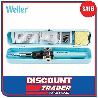 Weller Pyropen Professional Self-Igniting Cordless Butane Soldering Iron WPA2