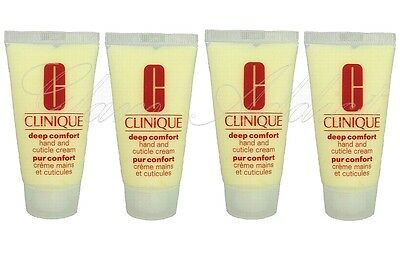 CLINIQUE Deep Comfort Hand and Cuticle Cream 100ml (4 x 30ml)