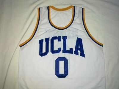 RUSSEL WESTBROOK UCLA Bruins White Basketball Jersey Gift Any Size