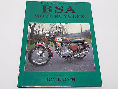 Illustrated History Of Bsa Motorcycles By Roy Bacon Gold Star Rocket 3 Vintage