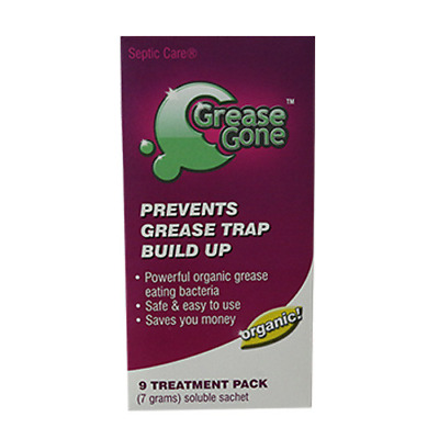 NEW Grease Gone(R), 9-Pack - Grease Trap Treatment Product vendor-unknown