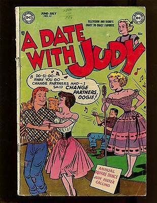 A Date With Judy #41 VG Oogie Liz