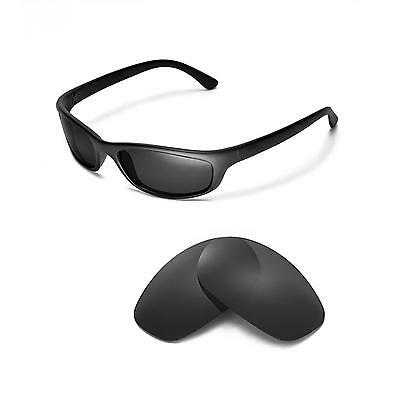 New Walleva Polarized Black Replacement Lenses For Ray-Ban RB4115 Sunglasses