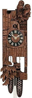 Hones 869 Carved Owl 8 Day Cuckoo Clock