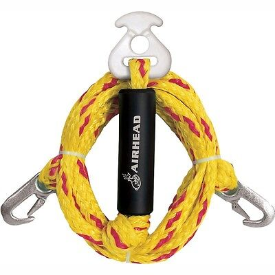 Airhead Super Strong Waterski Wakeboard Tow Harness Bridle Rope 12ft