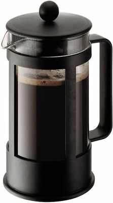 BODUM Kenya French Press 8-Cup Coffee Maker 1.0 L Stainless Steel/Plastic Frame