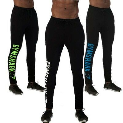 Gymshark Gym Shark Pants Sweatpants Fitness Jogger Workout Bodybuilding trousers
