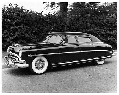 1949 Hudson 4 Door Sedan Factory Photo ca4932