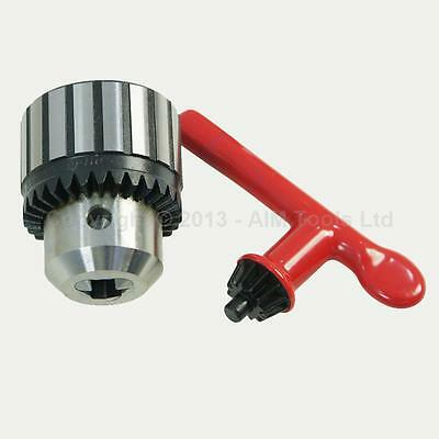 10519312 Heavy Duty Press Drill Chuck 1MM - 10MM B12 With Wrench