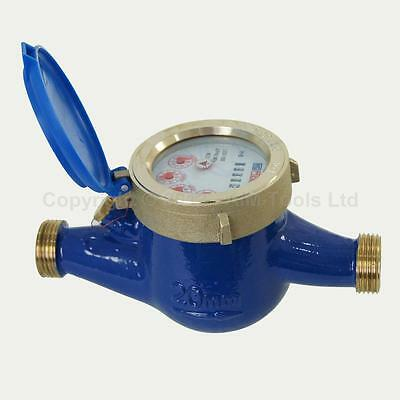 15181020 Professional Copper Water Flow Measuring Meter 20MM Cold Dry Counter