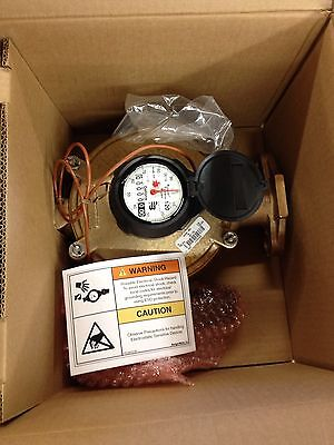 BADGER M120-1-1/2 No Lead Gallon Or Cf Meter