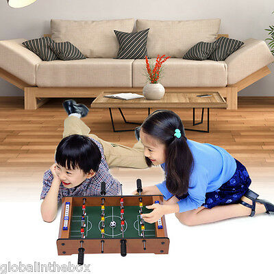 Family Soccer Game Toy  Foosball Players Mini Table Top Football Table Gaming