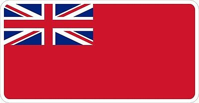 Royal Navy Red Ensign Decal / Sticker
