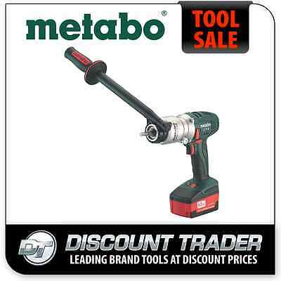 Metabo 18V Lithium-Ion 4.0Ah Cordless Drill / Screwdriver BS 18 LTX-X3 Quick
