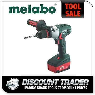 Metabo 18V Lithium-Ion 4.0Ah Cordless Impact Hammer Drill Impuls Kit SB 18 LTX