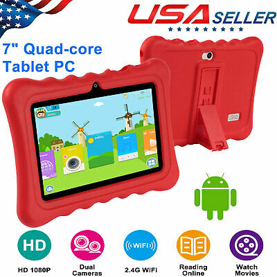 "Quad Core 7"" Inch Android 4.4 Tablet Dual Camera 8GB WIFI Bundle & Keyboard"