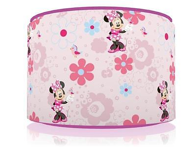 "Pink Minnie Mouse Light Ceiling Lamp Shade 11"" Nursery Kids Room Free P&p"