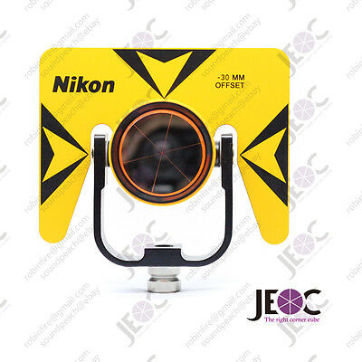 Brand new single prism reflector set for Nikon total-station surveying.