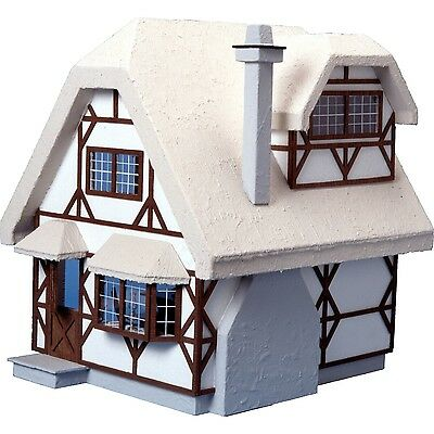 Greenleaf - The Aster Cottage Dollhouse - Wood / Wooden Dollhouse Kit