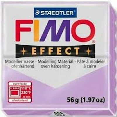 Fimo Effect Polymer Clay  - Pastel Lilac No 605