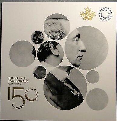 RCM ALBUM/CASE For The New 2015 Canada 2 Dollars Toonie Coin-John A. Macdonald
