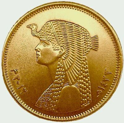 CLEOPATRA PORTRAIT EGYPT 50 Piastres 2012 Uncirculated COIN FROM MINT ROLL