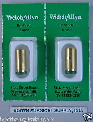 Welch Allyn 03800-U 3.5V Halogen Replacement Bulb--Genuine Welch Allyn-- 2-Pack