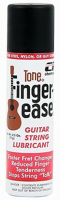 Tone Finger-Ease Guitar String Lubricant in 2.5 oz Aerosol Can