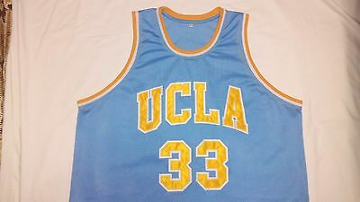 LEW ALCINDOR UCLA Bruins Blue Basketball Jersey Gift Any Size