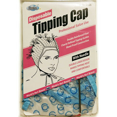 Dream Disposable Tipping/frosting/highlighting Cap With Needle #0128 Bleed Proof