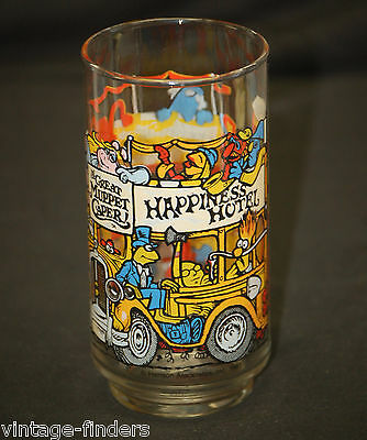 The Great Muppet Caper Advertising Drinking Glass Animation Character McDonald's