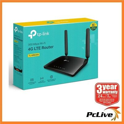 NEW TP-Link TL-MR6400 300Mbps Wireless N 4G LTE Router SIM Card Slot WIFI WAN 3G