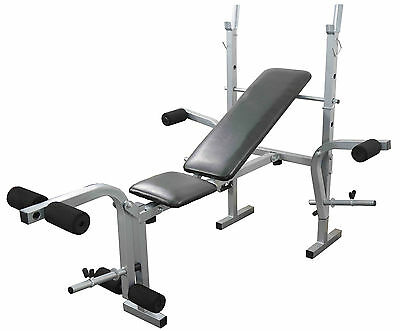 Weight Bench folding adjustable Multi Gym Fitness Chest & Leg Exercise
