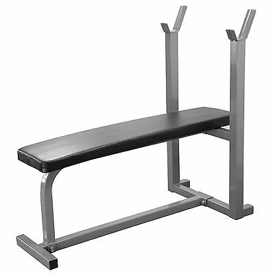 Weight Bench Home Gym Fitness workout exercise Board Heavy Duty Flat