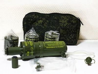 NEW! Portable water filter NF-10 .Orig Russian army. Ratnik KIT