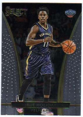 2015-16 Panini Select Courtside SP #244 Jrue Holiday