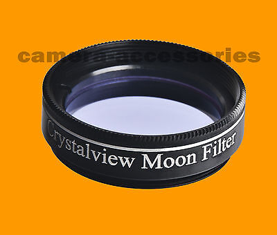 """Crystalview Moon 1.25"""" 1.25 inch  Eyepiece Filter for Telescope"""