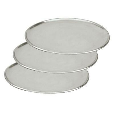 3 x Pizza Tray / Plate / Pan, Aluminium, 280mm / 11 inch, Round, Pizzas